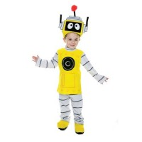 Yo Gabba Gabba Toddler Plex Costume
