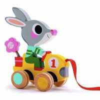 Rabbit Racer Pull Toy