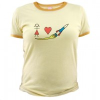 Girls Heart Rockets T-Shirt