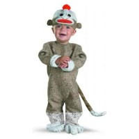 Infant/Toddler Sock Monkey Costume