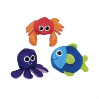 Soft Swimmers Animal Bath Toys