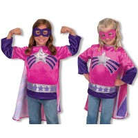 Melissa and Doug Super Heroine Costume Set