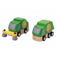 Plan City Street Cleaner & Garbage Truck