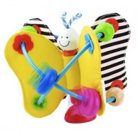 Twisty Butterfly Soft Rattle